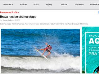 Brava recebe 7ª etapa - mat publicada na waves set 2016