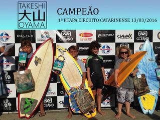 Circuito Surf Talentos Oceano SC 2016