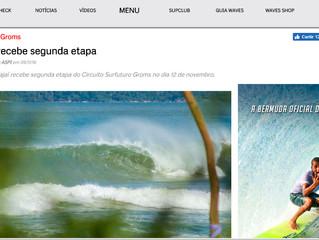 Praia Brava em Itajaí recebe a segunda etapa Circuito Surfuturo Groms no dia 12 de novembro