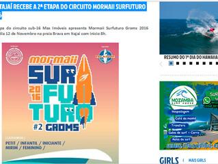 BRAVA DE ITAJAÍ RECEBE A 2ª ETAPA DO CIRCUITO MORMAII SURFUTURO GROMS 2016