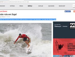 Etapa final do Circuito Surfuturo Groms 2016 acontece no dia 17 de dezembro, na praia da Atalaia, It