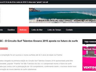 SURF REGIONAL SC - O Circuito Surf Talentos Oceano 2016 aposta no futuro do surfe catarinense