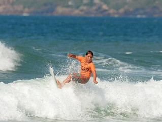 Matéria publicada no DC - Circuito Surf Talentos desembarca em Garopaba no final de semana