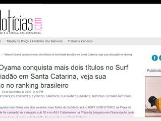 Matéria publicada Egonoticias.com