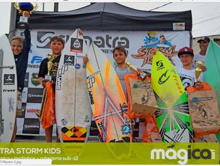 Matéria publicada magica surf Storm Kids