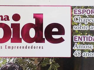 Matéria publicada na revista Ana Loide de Chapecó