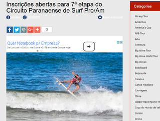 Materia publicada noticiasdomar.com.br