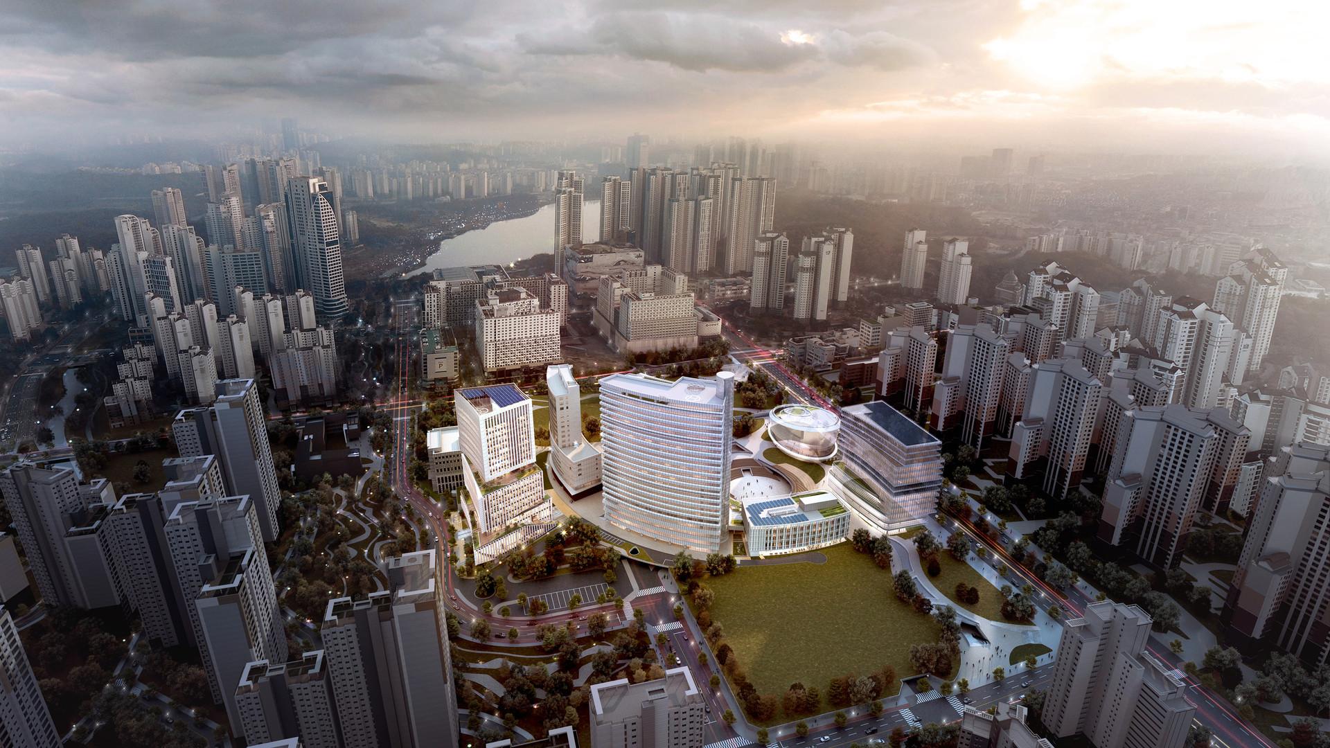 2020 / 12 / 경기주택도시공사 융복합센터 건립공사 [당선]