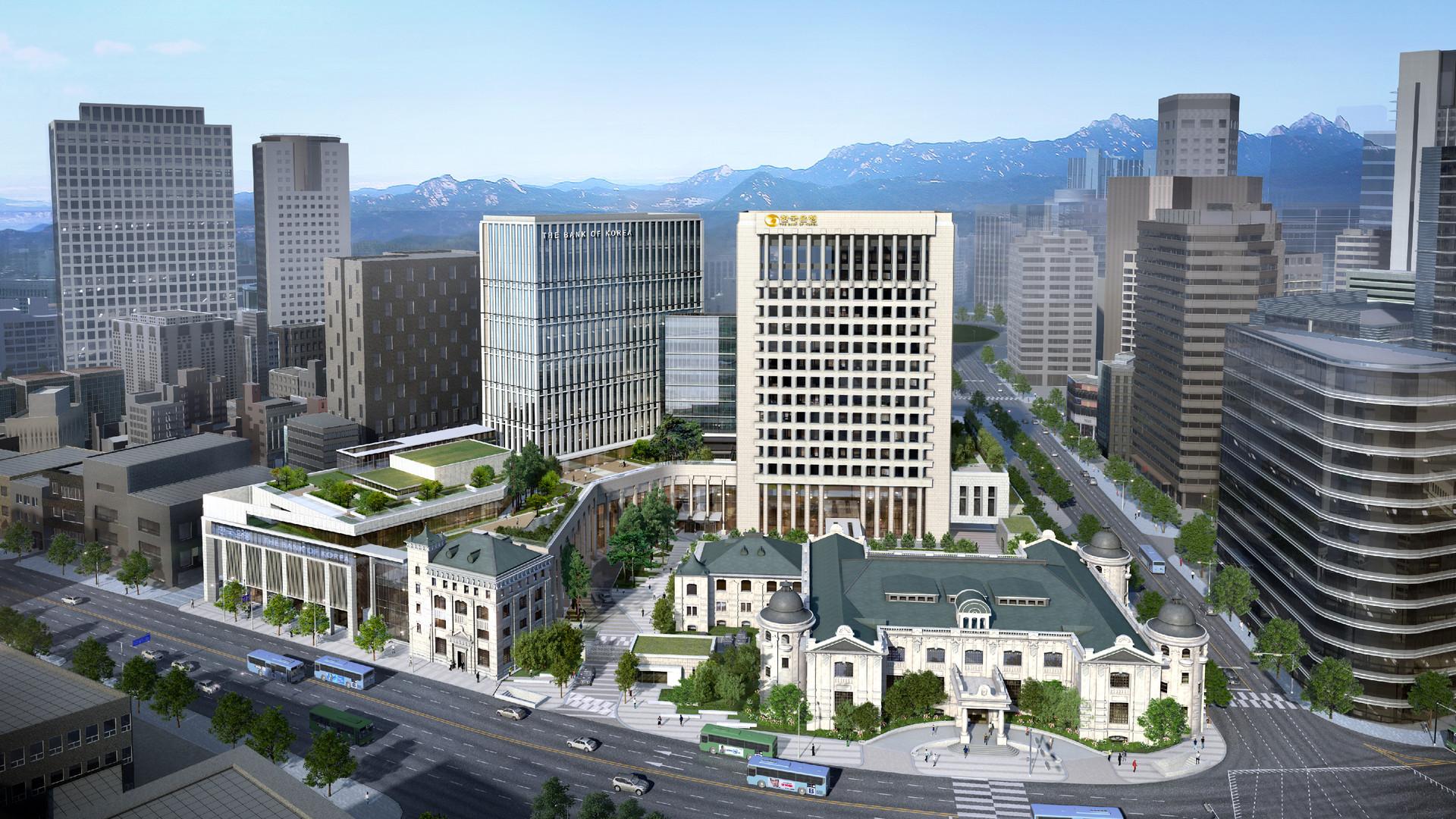2017 / 11 / 한국은행 통합별관 건축공사 실시설계 기술제안