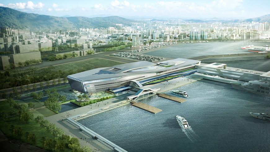 2011 / 11 / 부산항 국제여객터미널 건립공사 TK