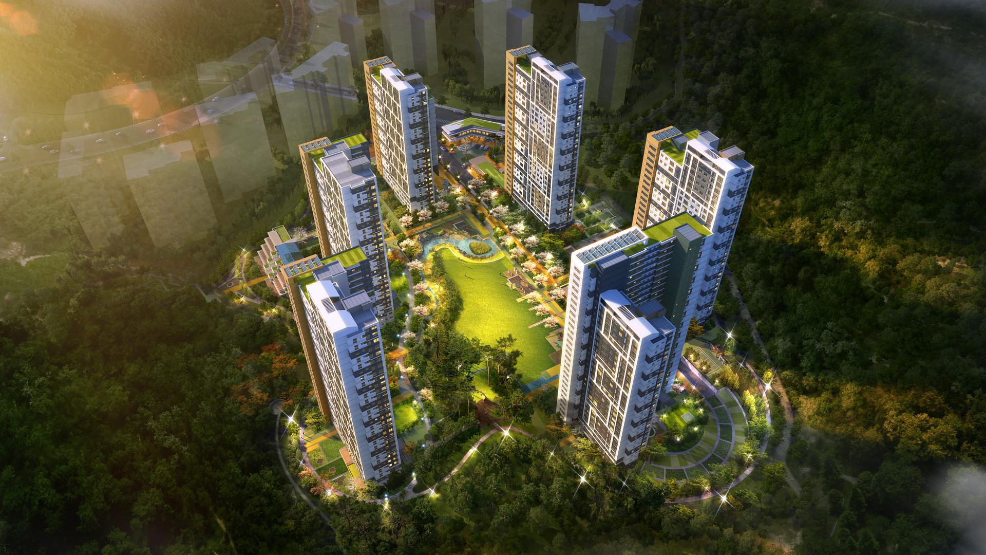 2017 / 06 / 경북도청 이전신도시 B-7BL 공공임대 주택개발 기술제안 [당선]