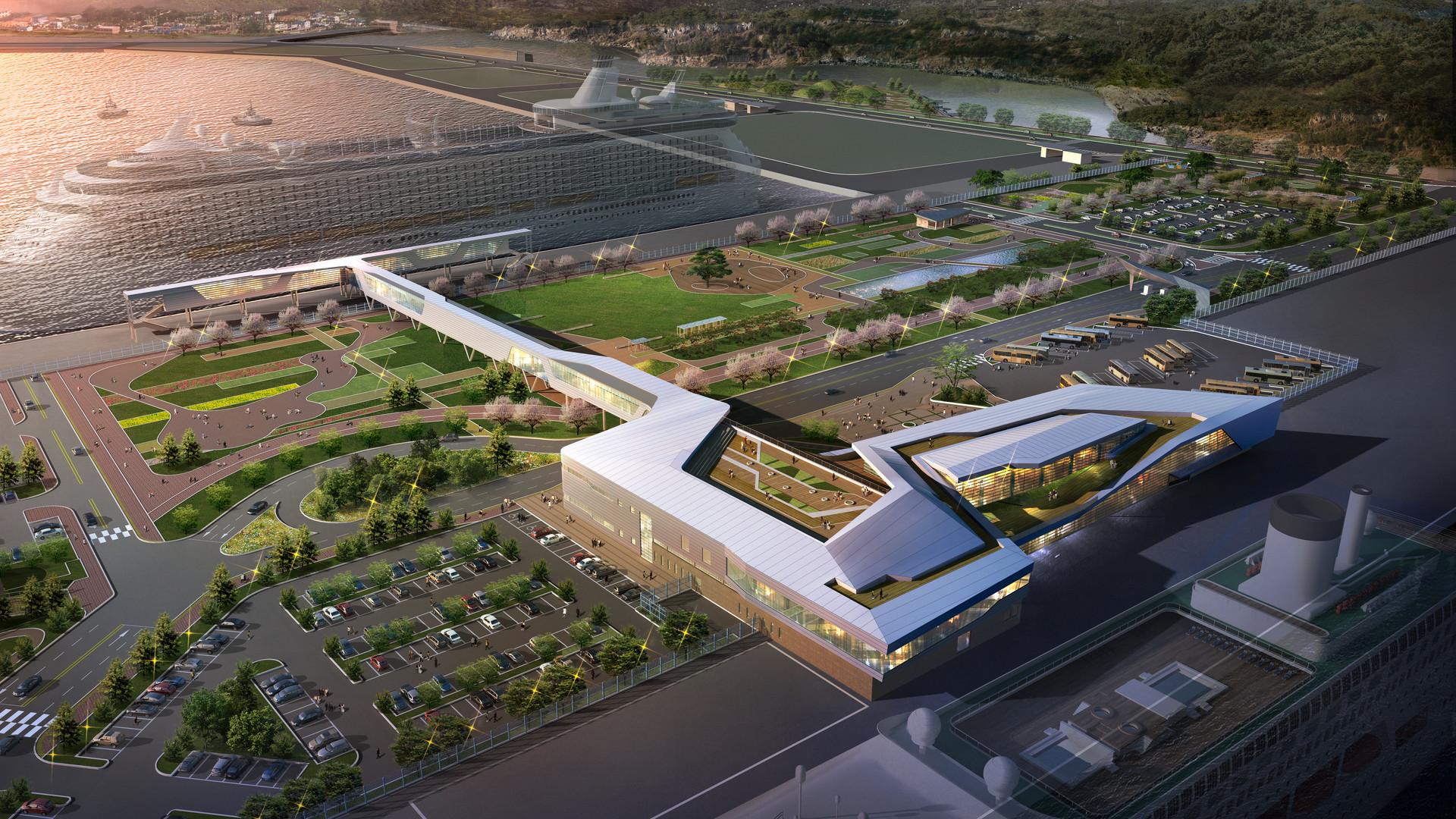2013 / 08 / 제주항 국제여객터미널 신축공사 기술제안