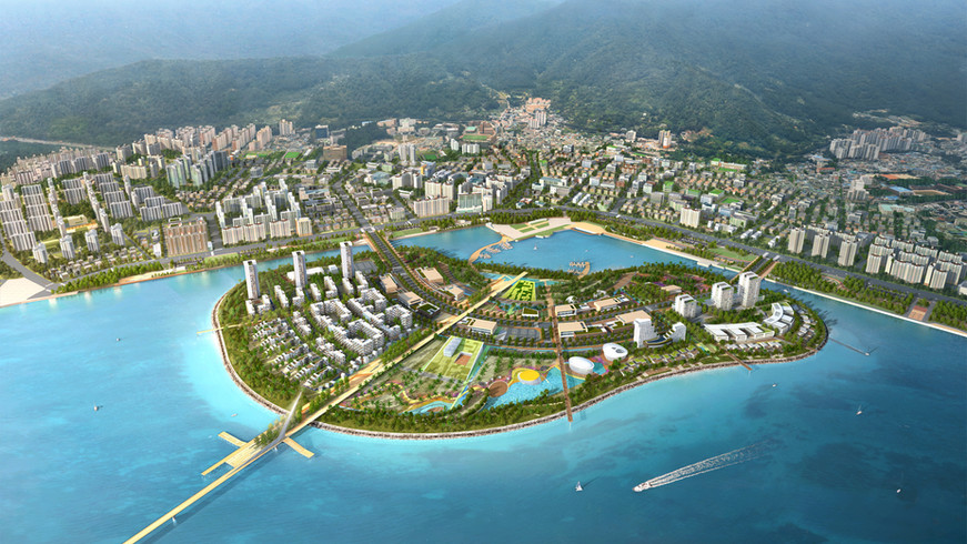 2018 / 06 / 마산해양신도시 민간복합개발사업 현상설계