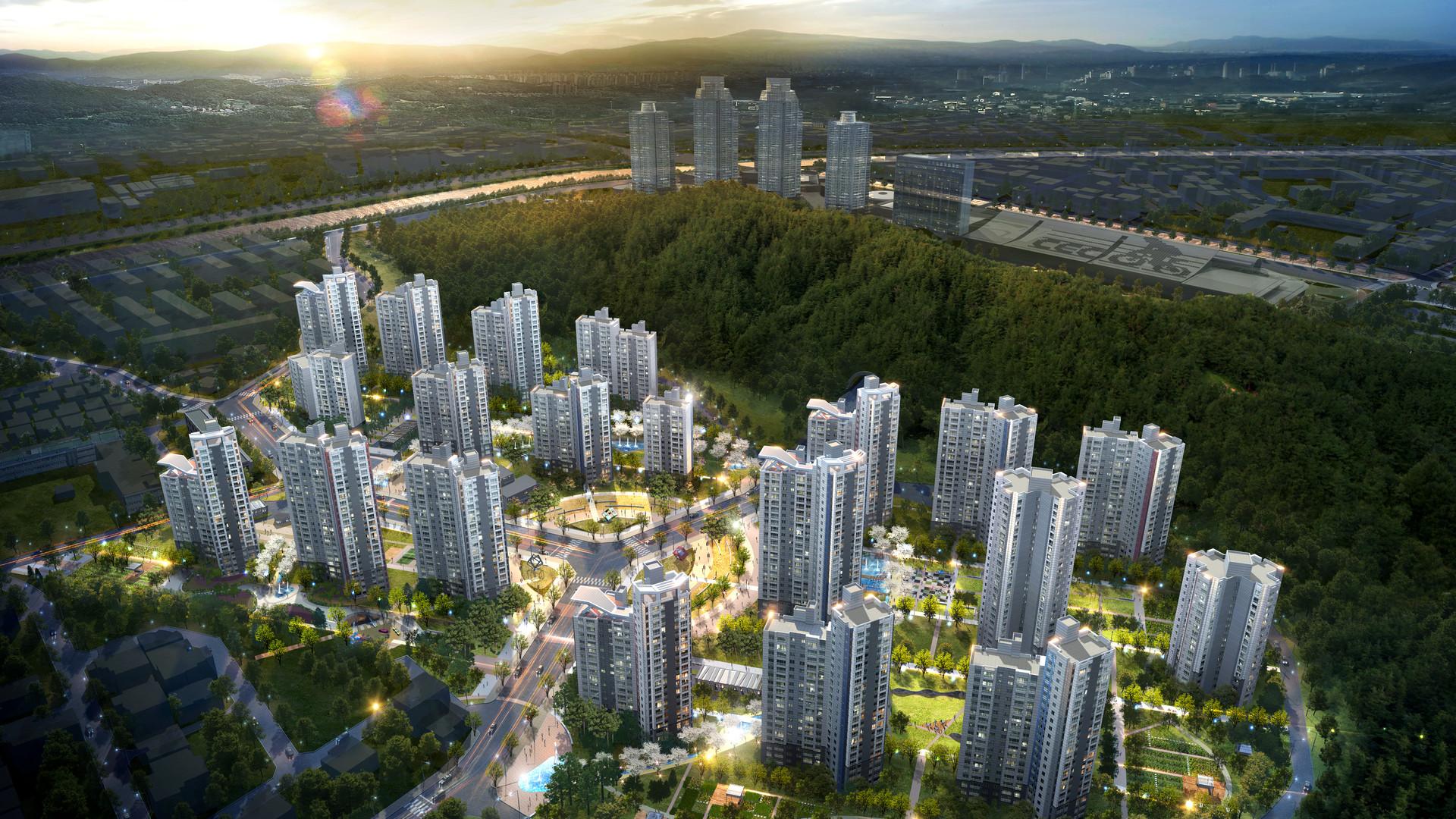 2015 / 12 / 경남 창원시 대원3구역 주택재건축 제안설계 [당선]