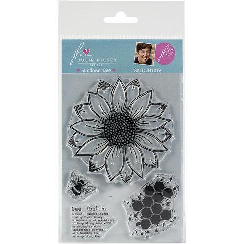 JULIE HICKEY DESIGNS Sunflower Bee