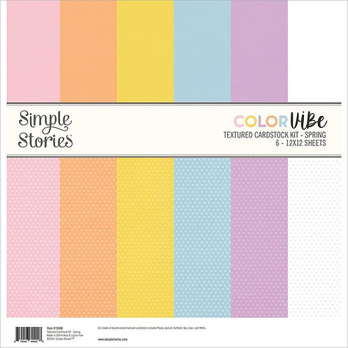 SIMPLE STORIES Color Vibe - Spring