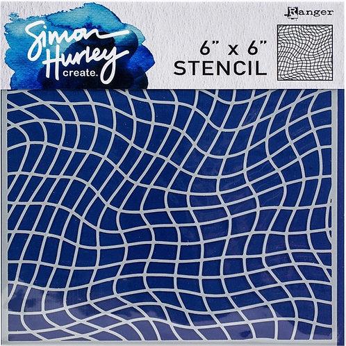 RANGER Simon Hurley 6x6 Stencil - Nothing But Net