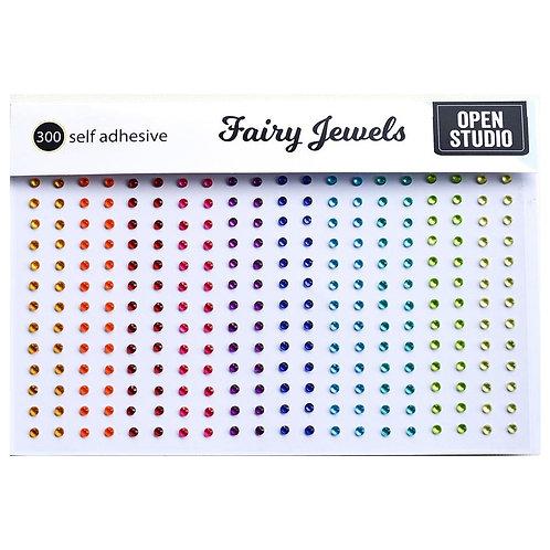 MEMORY BOX Fairy Jewels (300/pkg) - Brights