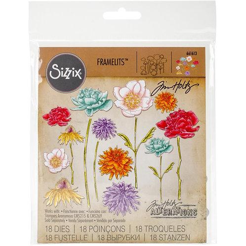 SIZZIX Framelits  Flower Garden and Mini Bouquet