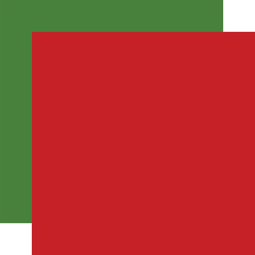 CARTA BELLA Designer Solids Red/Green 3