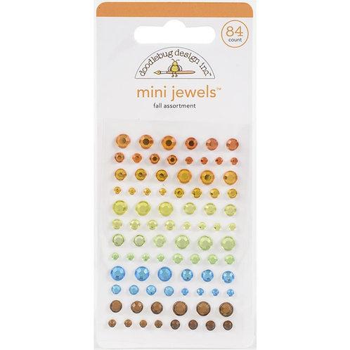 DOODLEBUG Adhesive Mini Jewels - Fall