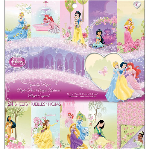 DISNEY Specialty Princess Paper Pad