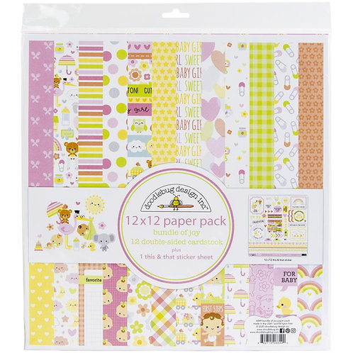 DOODLEBUG Bundle of Joy Girl Essentials Kit