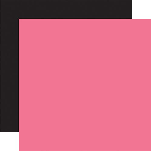 ECHO PARK Designer Solids - Dark Pink/Black