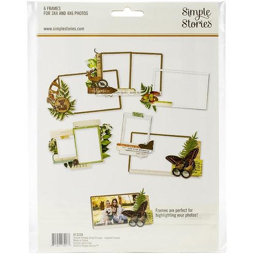 SIMPLE STORIES Frames - SV Great Escape