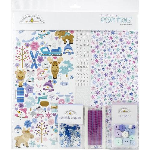 DOODLEBUG Winter Wonderland Essentials Kit