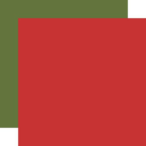 ECHO PARK Designer Solids - Red/Green2