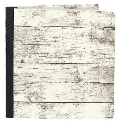 SIMPLE STORIES 6x8 Flipbook - Whitewash