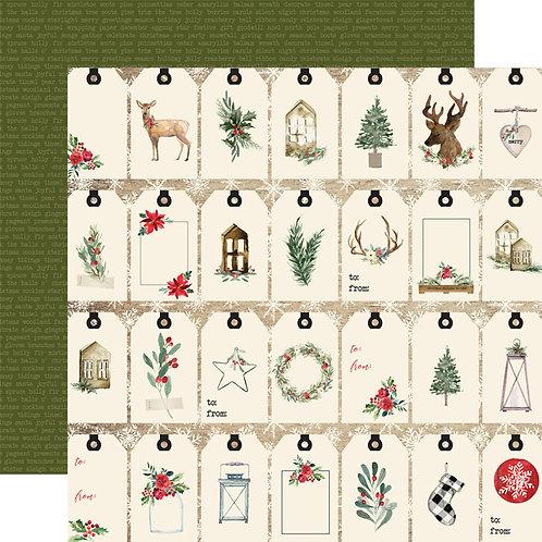Gift Tags (CARTA BELLA-Christmas)