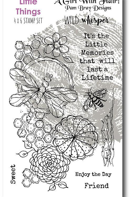 WILD WHISPER 4x6 Stamp - Pam Bray Little Things