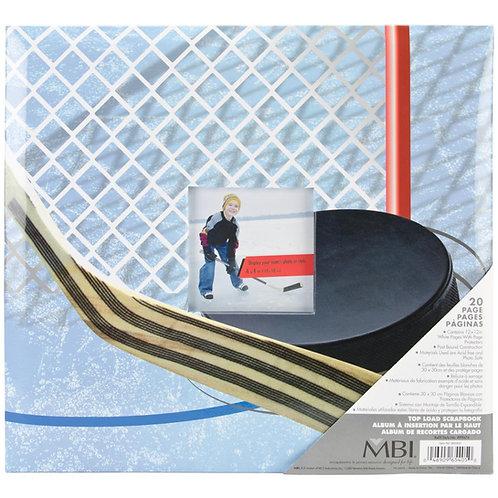MBI Hockey 12X12 Postbound Album