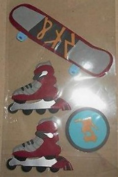 PAPER BLISS Skater (4pcs)