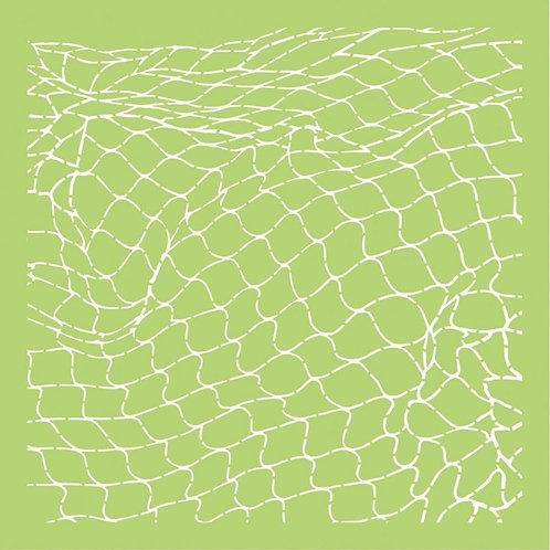 KAISERCRAFT 12x12 Stencil - Fishing Net