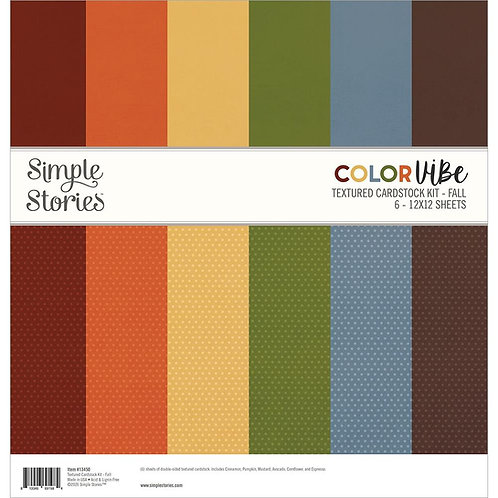 SIMPLE STORIES Color Vibe - Fall