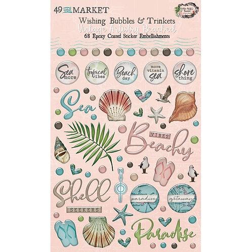 49 & MARKET Wishing Bubbles & Trinkets - Beached