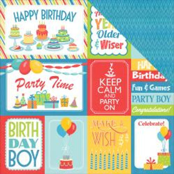 PHOTO PLAY Party Boy Cards