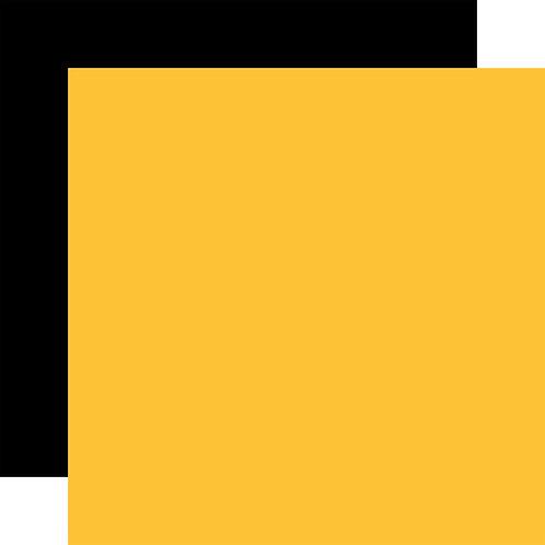 ECHO PARK Designer Solids - Yellow/Black