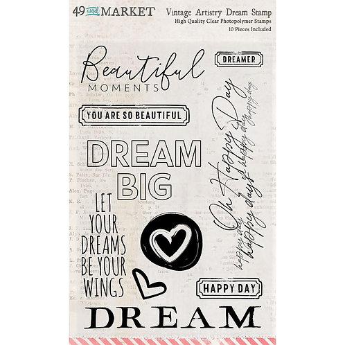 49 & MARKET Stamp - VA Dream