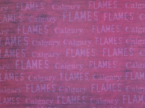 Calgary Flames - NHL 12x12 Paper