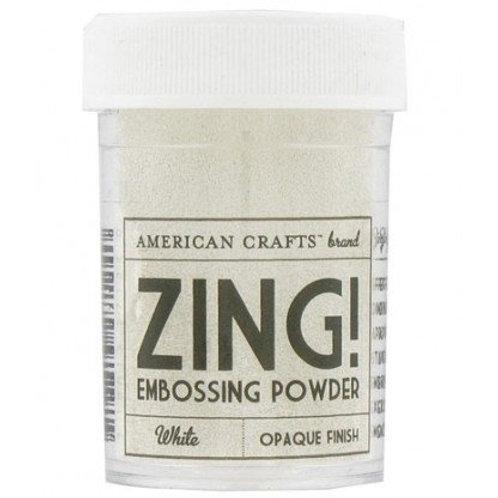 ZING Emboss Powder (1 oz)White Opaque