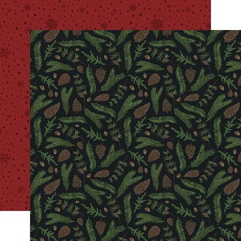 ECHO PARK Warm & Cozy - Pine Boughs