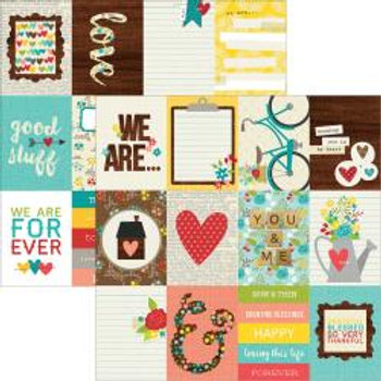 SIMPLE STORIES We Are Family - Journal Card Elements