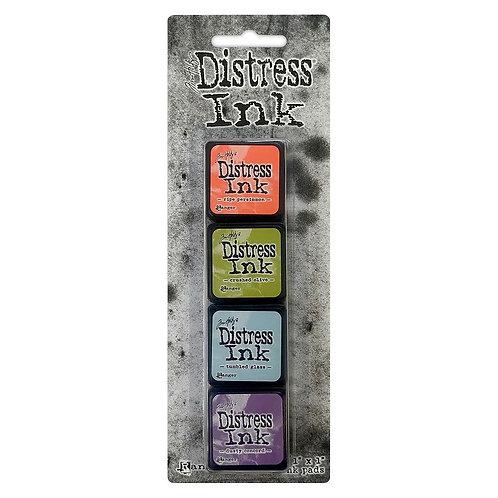 TIM HOLTZ Distress Mini Ink Pads 4/Pkg - Kit#8
