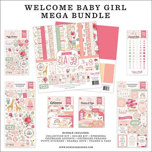 ECHO PARK Mega Bundle - Welcome Baby Girl