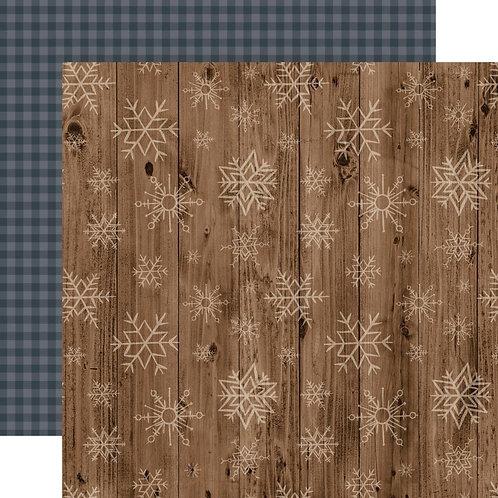 ECHO PARK Warm & Cozy - Wooden Snowflakes