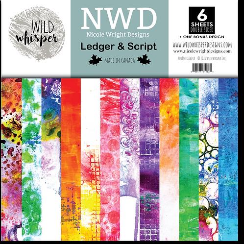 WILD WHISPER Paper Pack - Ledger & Script